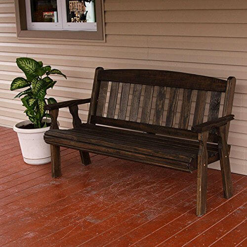 Heavy Duty Pressure Treated Outdoor Bench