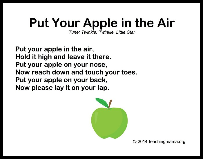 Put Your Apple in the Air