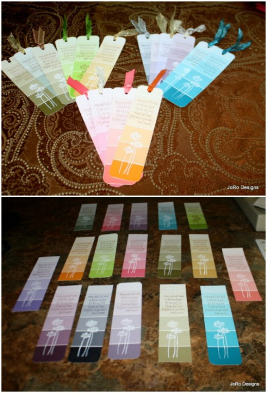 Create a set of bookmarks.