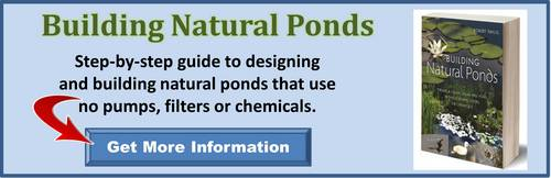 Building Natural Ponds book, by Robert Pavlis