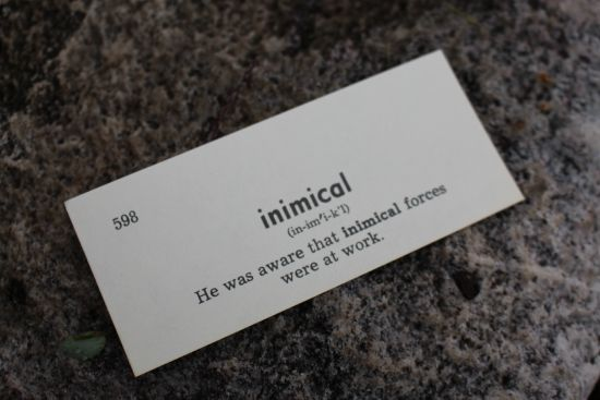 inimical